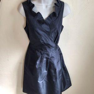 J. Crew Dresses - J.Crew 100% Silk Size 6 Blue Dress.              L